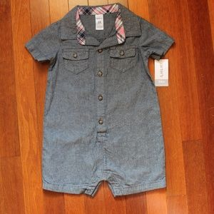 NWT Handsome 24M Boys One Piece Outfit